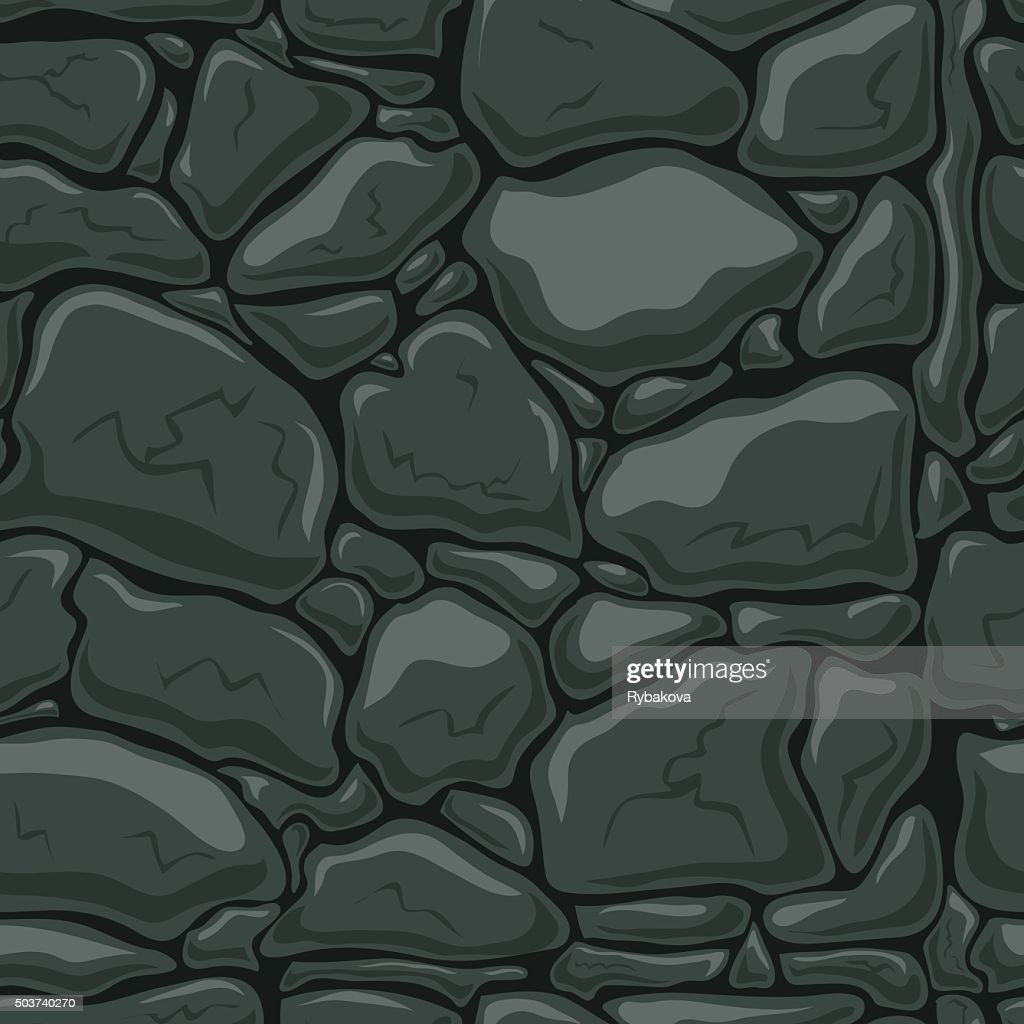 Seamless pattern with decorative stones-3