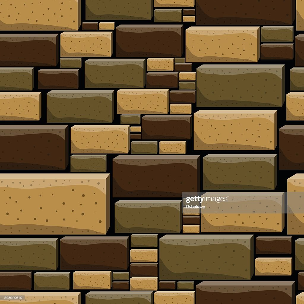 Seamless pattern with decorative stones-5