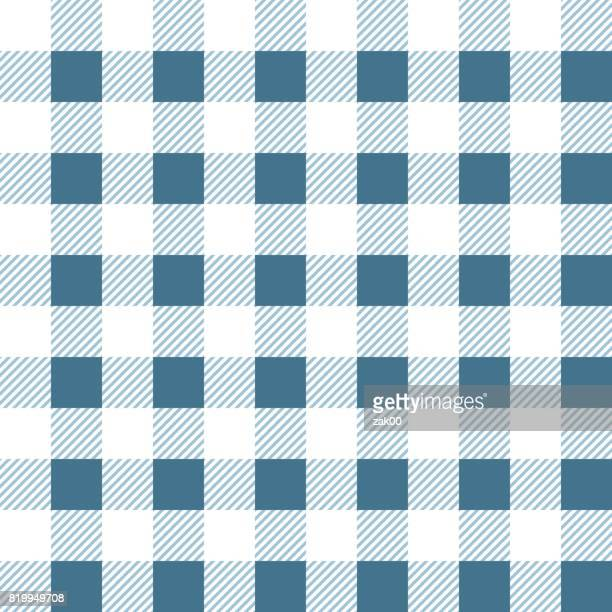 seamless pattern with fabric texture - picnic blanket stock illustrations, clip art, cartoons, & icons