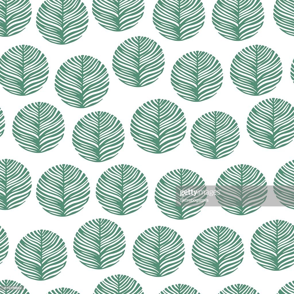 Seamless pattern with hand drawn textures. Eco background.