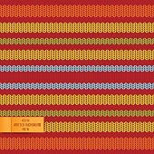 Seamless pattern with knitted background. Vector 10 EPS