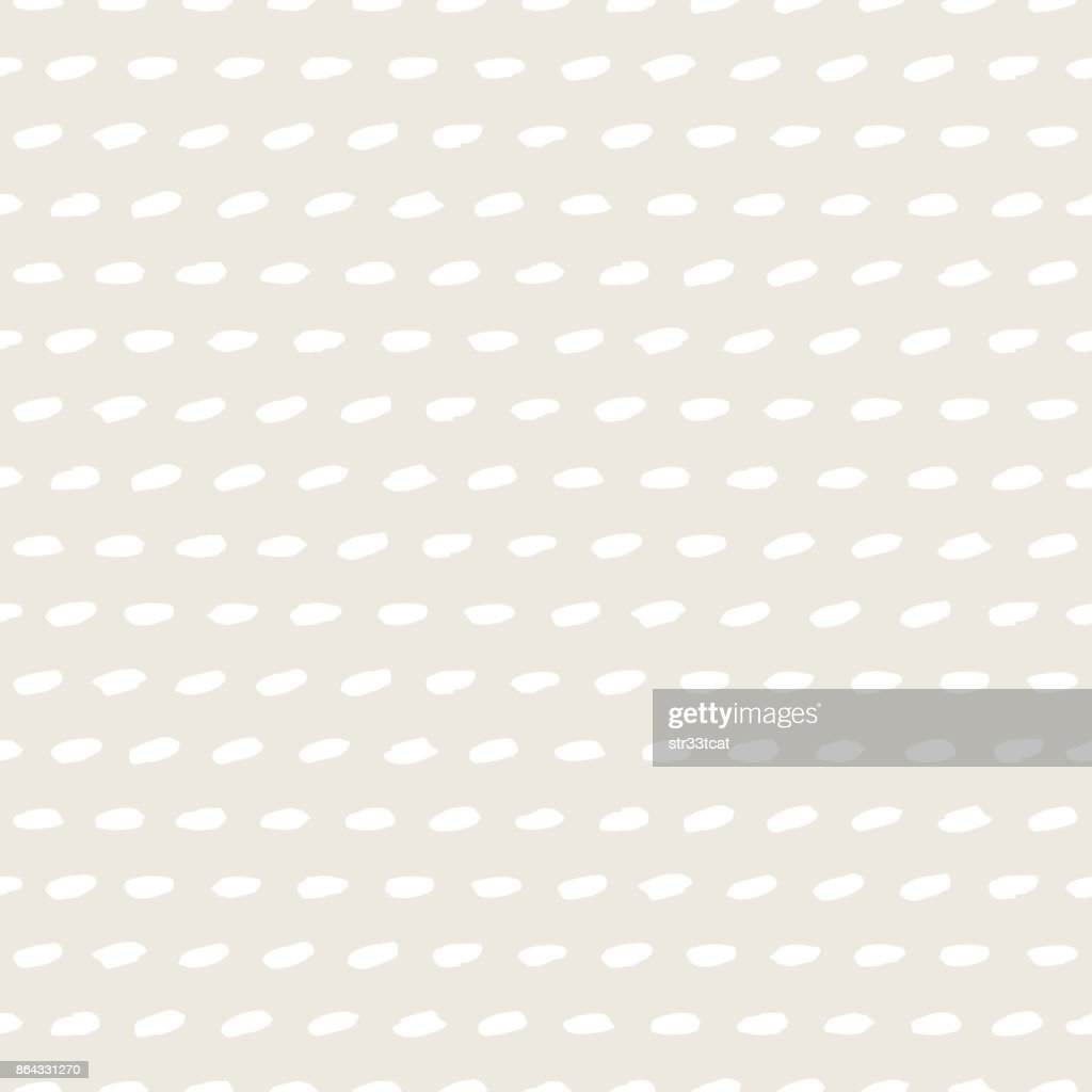 Seamless pattern with random brush strokes