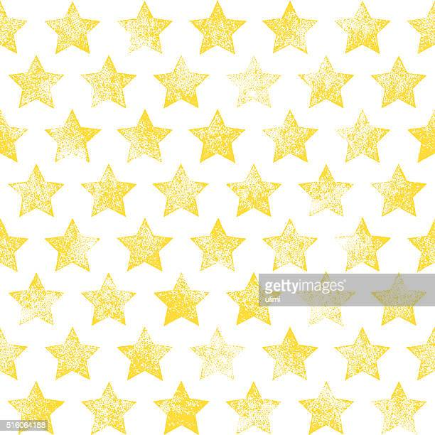 seamless pattern with stars - star shape stock illustrations, clip art, cartoons, & icons