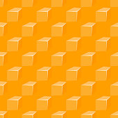 Seamless pattern with yellow cheese and holes cheddar milk edam breakfast background design. vector illustration