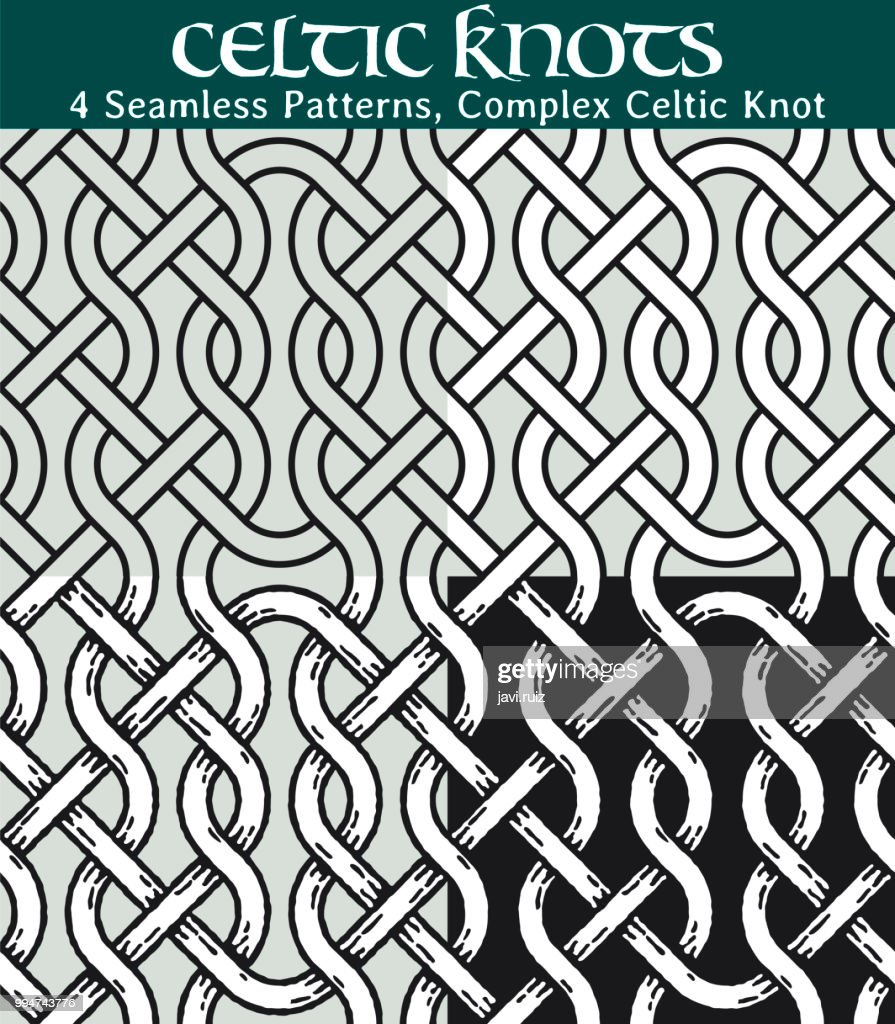 Seamless Patterns, Complex Celtic Knot