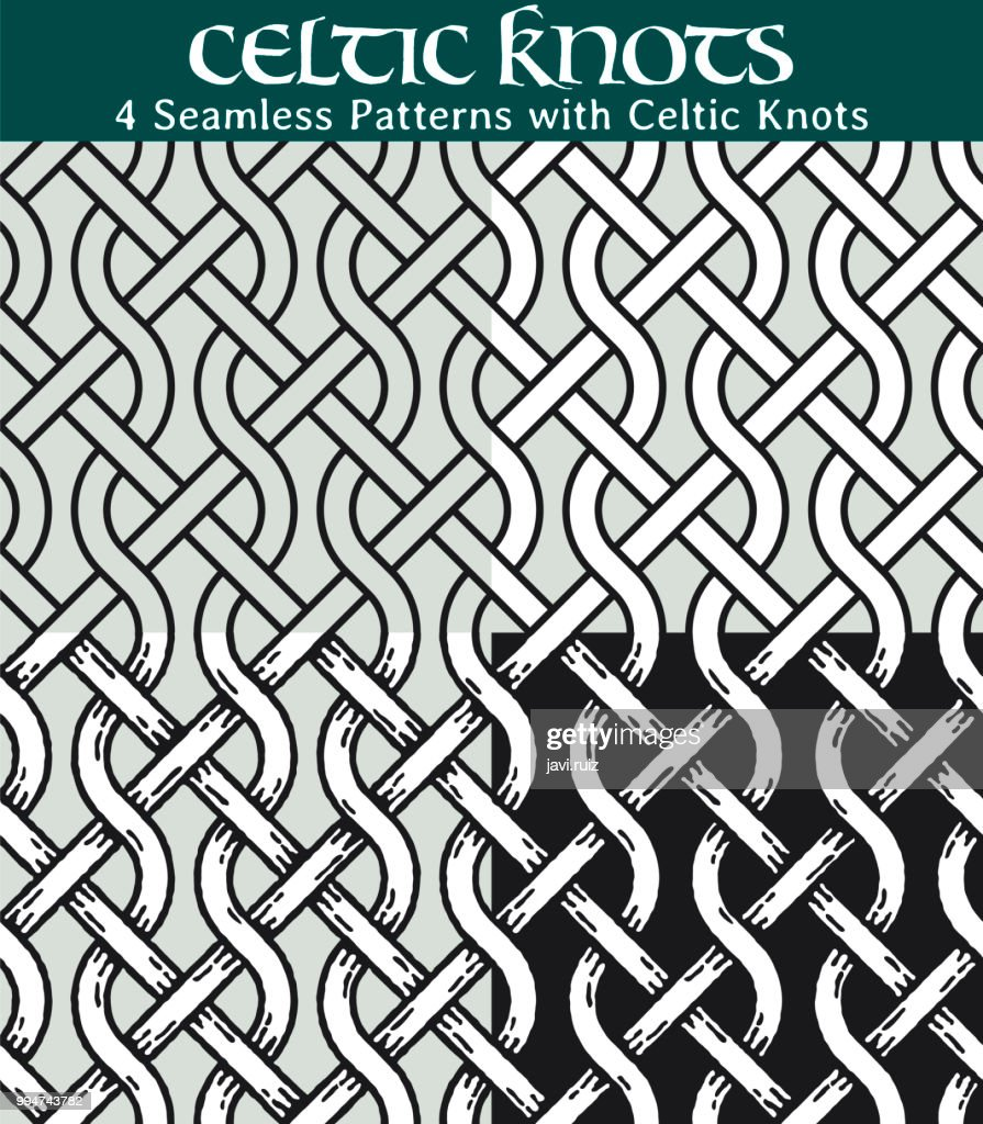 Seamless Patterns with Celtic Knots