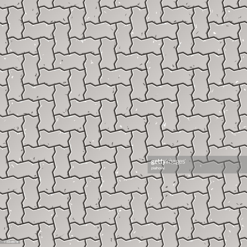 Seamless pavement pattern