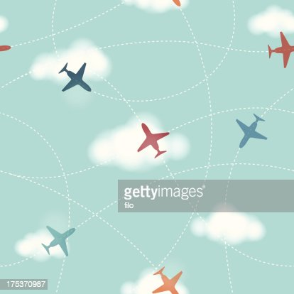Seamless Planes Background