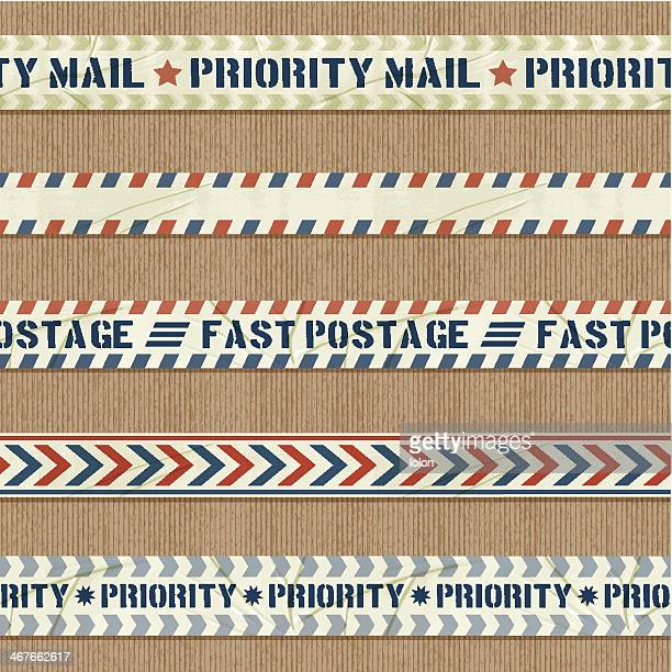 seamless priority mail banners