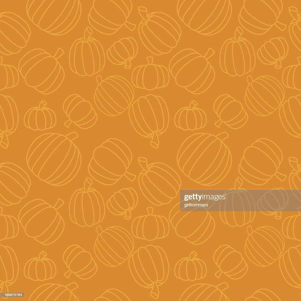 Seamless Pumpkins