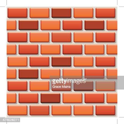 Aninimal Book: Seamless Repeating Pattern Brick Wall Vector High-Res ...