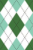 Seamless Retro Argyle Repeating Pattern