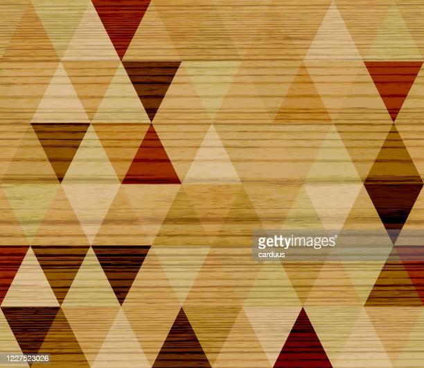 シームレスな菱形の木製テクスチャパターン - チーク点のイラスト素材/クリップアート素材/マンガ素材/アイコン素材