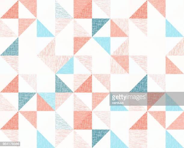 seamless  rhombus  canvas pattern