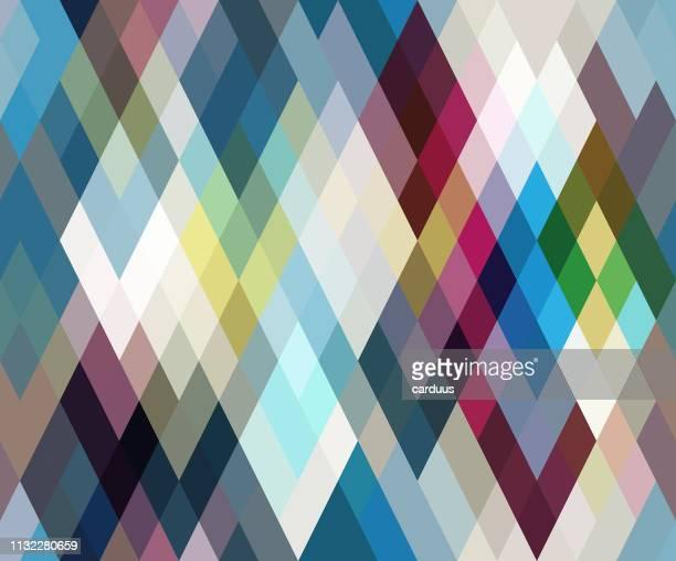 seamless  rhombus  pattern - rhombus stock illustrations