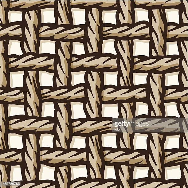 seamless rope net tile