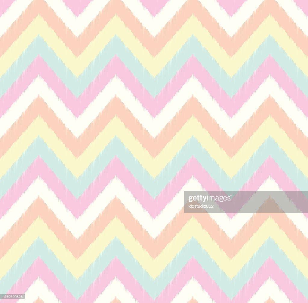 seamless scribble zig zag pattern