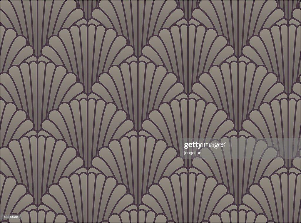 Seamless shell wallpaper