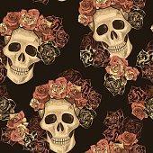 Seamless Skull Pattern