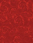 Seamless Spring Scroll Background Christmas Wallpaper