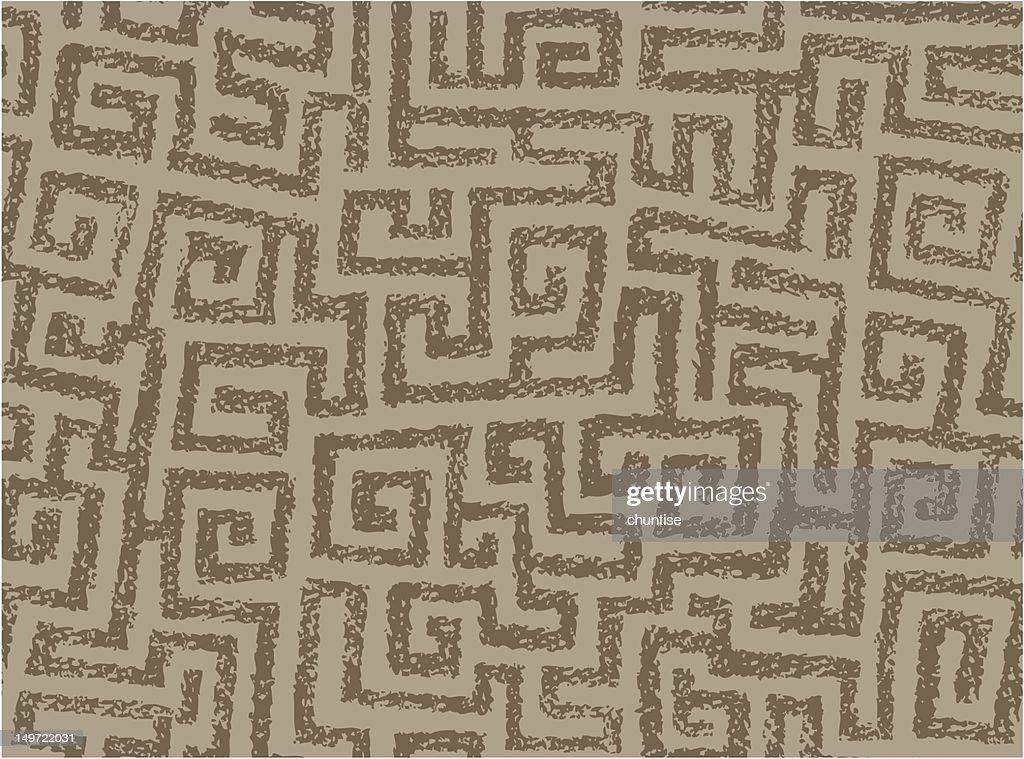 Seamless Squarish Spirals