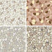 Seamless stone pattern