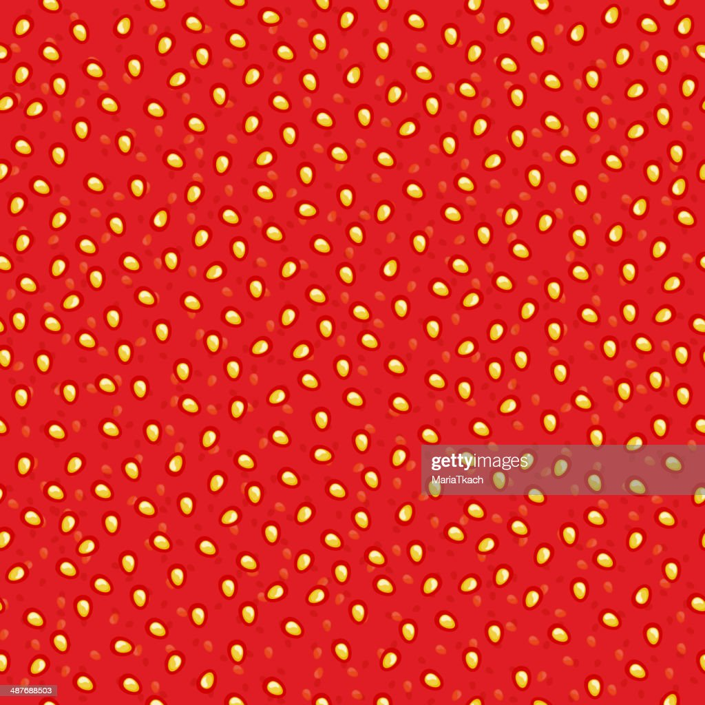 Seamless strawberry jam pattern.