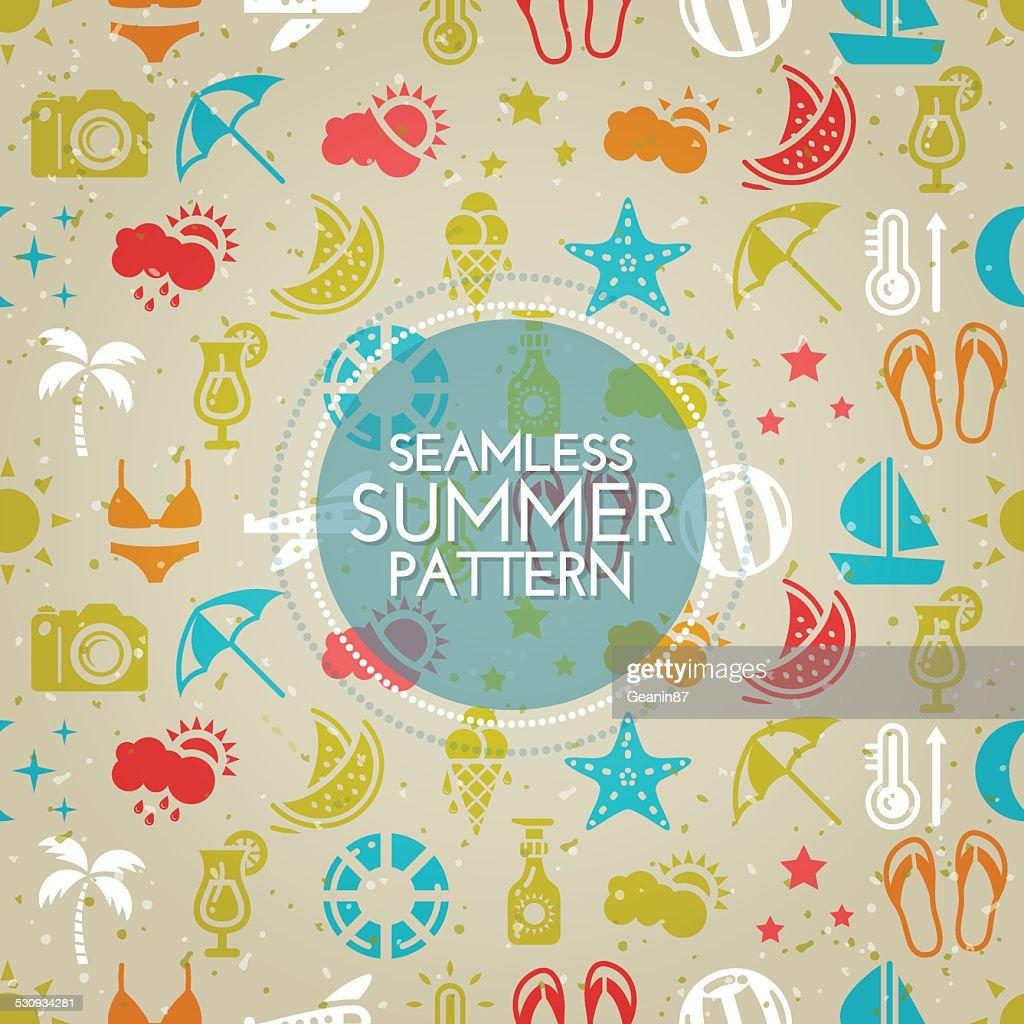 Seamless summer pattern