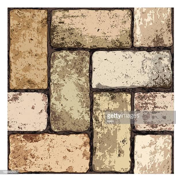 seamless terracotta floor