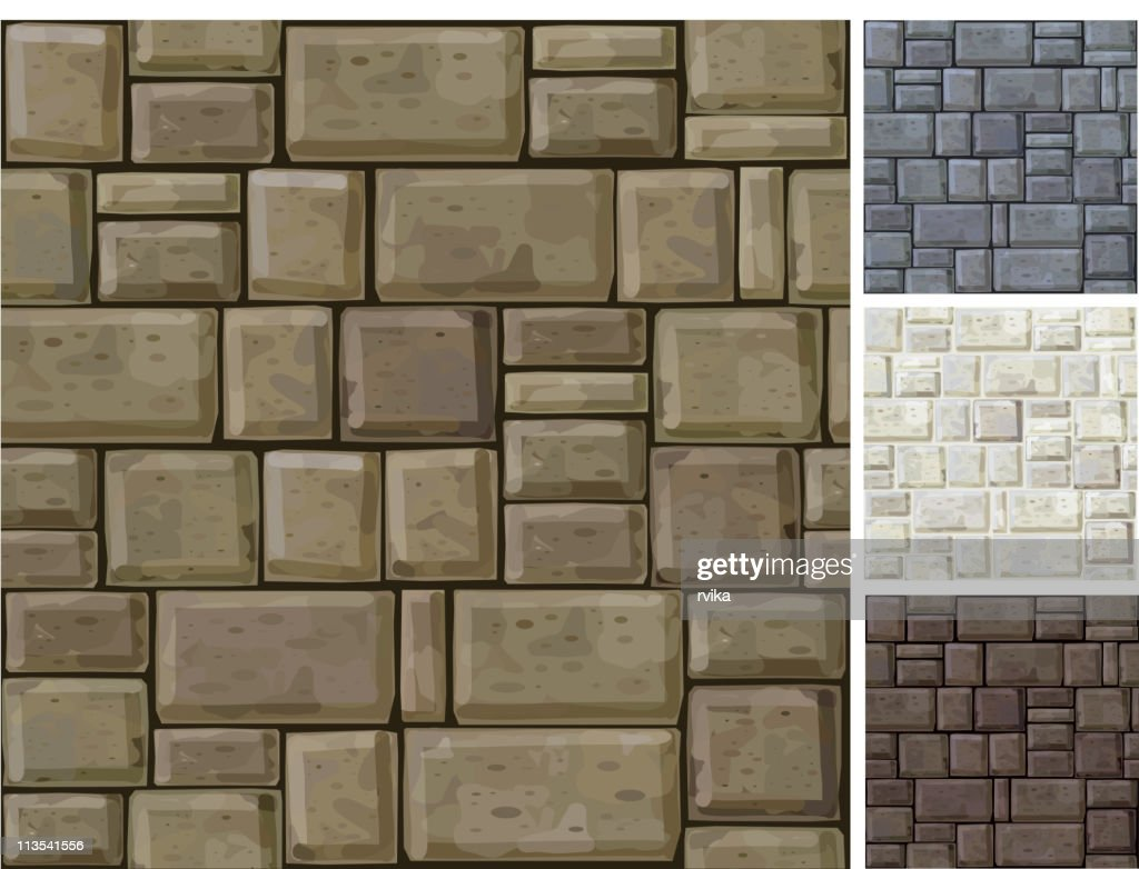 Seamless texture of stones.