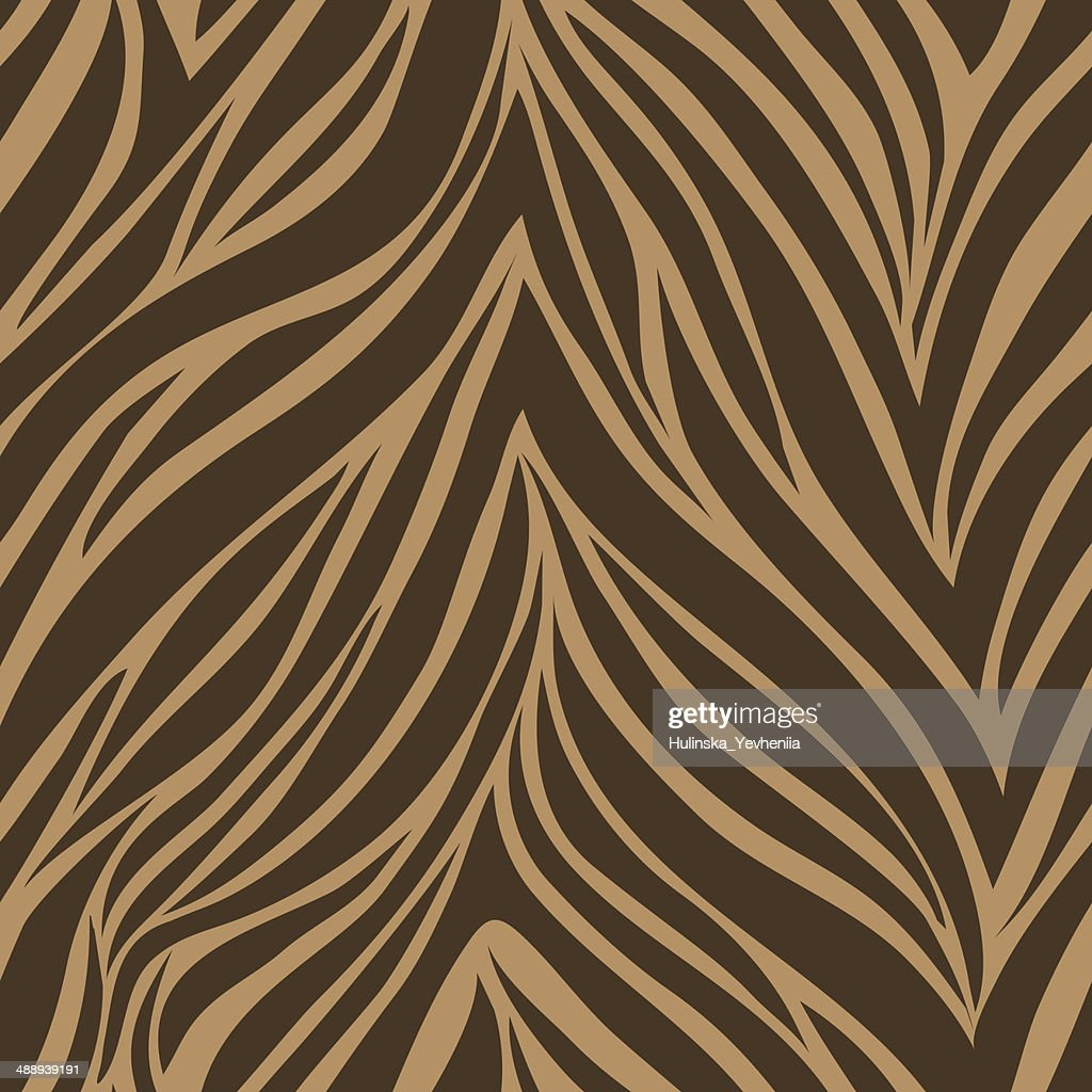 Seamless texture of tiger skinŒ