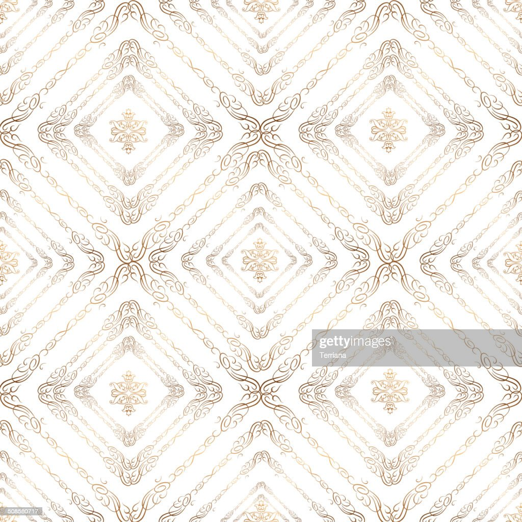 Seamless texture set in retro style for scrapbook. : Vector Art