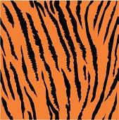 Seamless tiger fur pattern