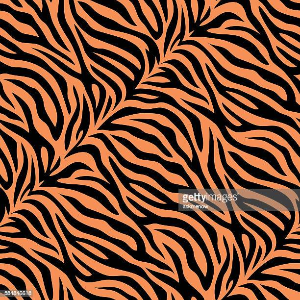 Seamless tiger skin pattern