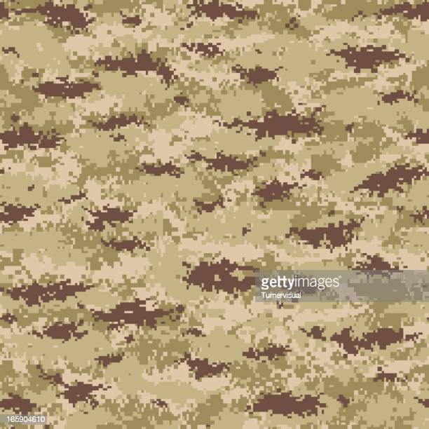 seamless tile image of digital camouflage print - marines military stock illustrations, clip art, cartoons, & icons