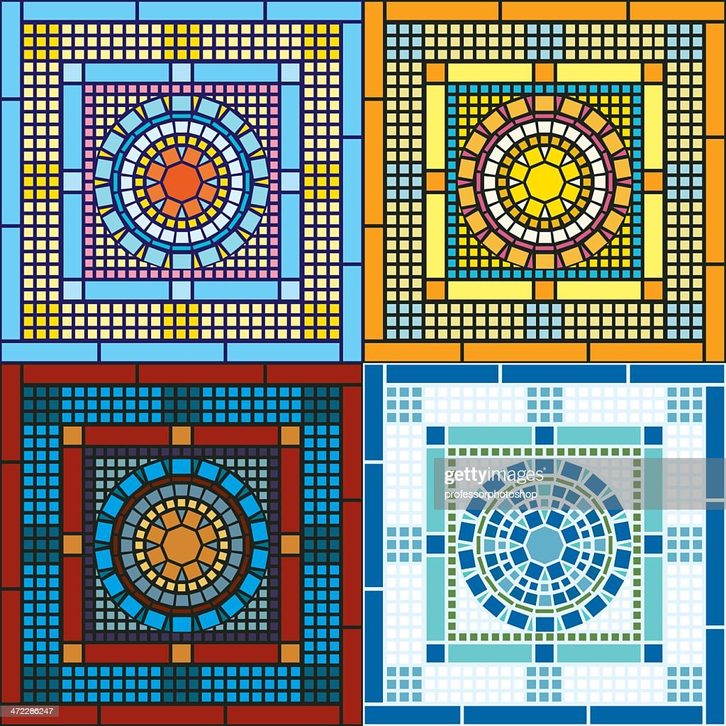 Seamless Tile Patterns Vector Art | Getty Images