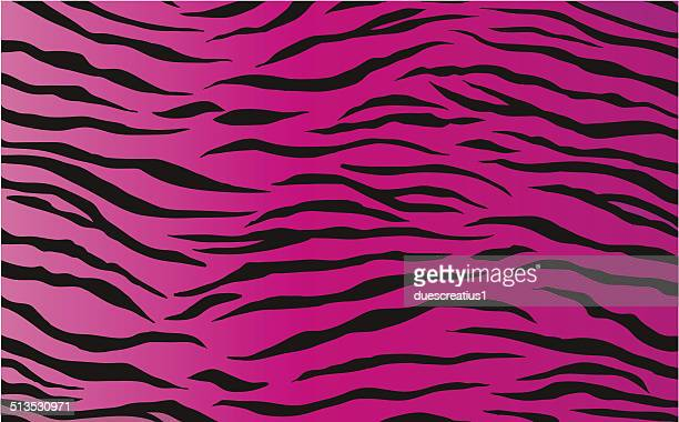 Seamless tiling tiger animal print patterns