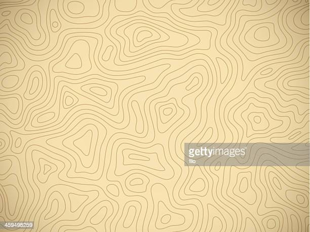 seamless topographic background - contour drawing stock illustrations