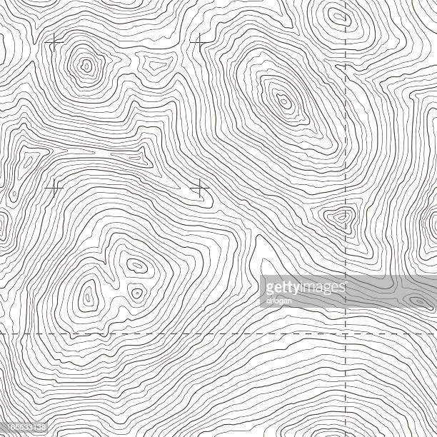 seamless topographic map - cartography stock illustrations