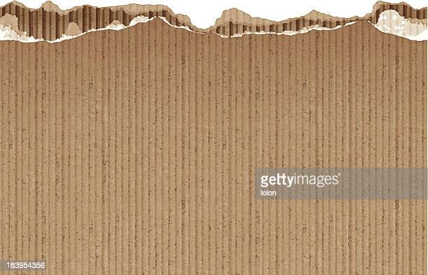 nahtlose zerrissen papier banner - braun stock-grafiken, -clipart, -cartoons und -symbole