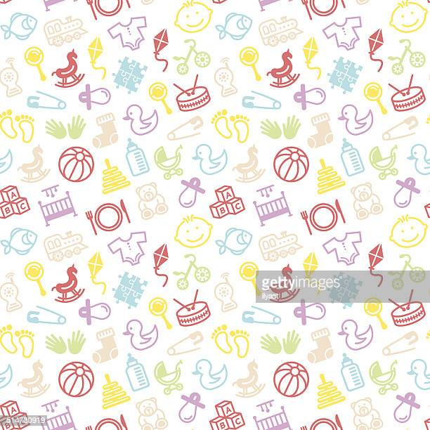Seamless Toys Pattern