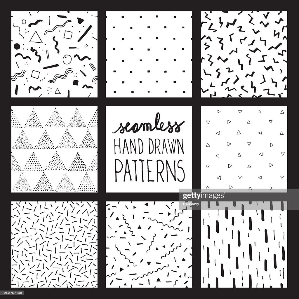 Seamless trendy patterns