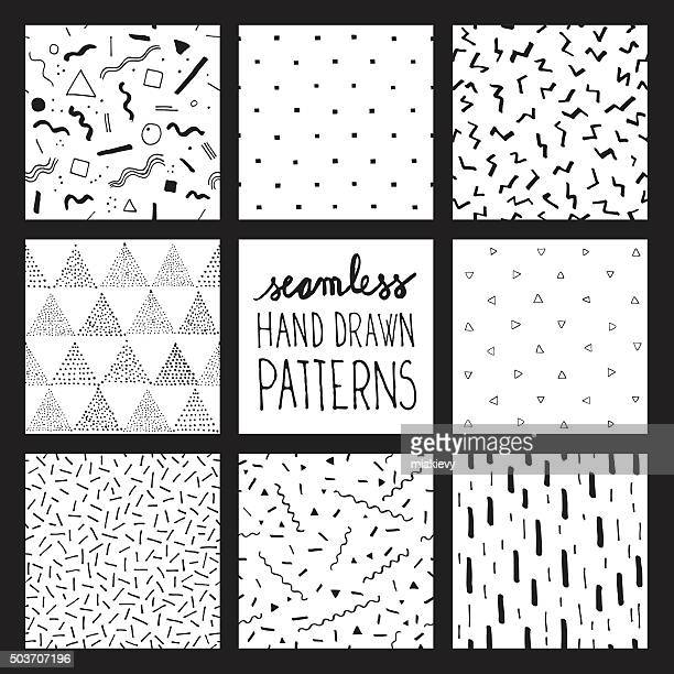 Seamless trendy patterns