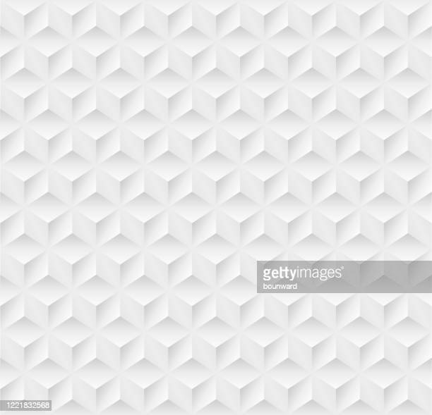 seamless triangle background pattern - black and white stock illustrations