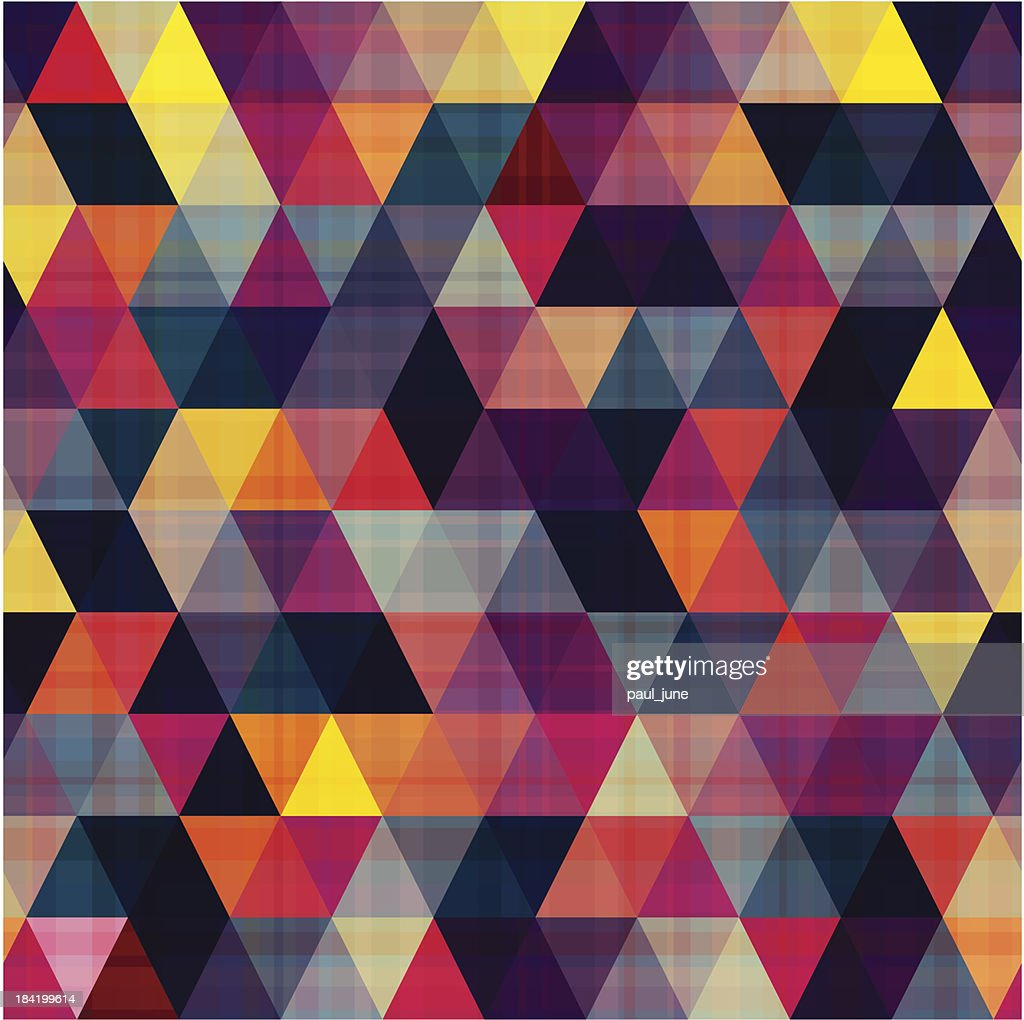 seamless triangle geometric pattern