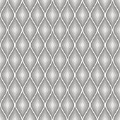 Seamless vector abstract pattern. Grey symmetrical geometric repeating background with decorative rhombus. Series of Geometric Seamless Patterns.