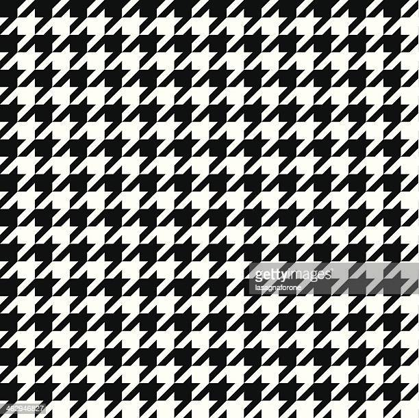 Seamless Vector Houndstooth