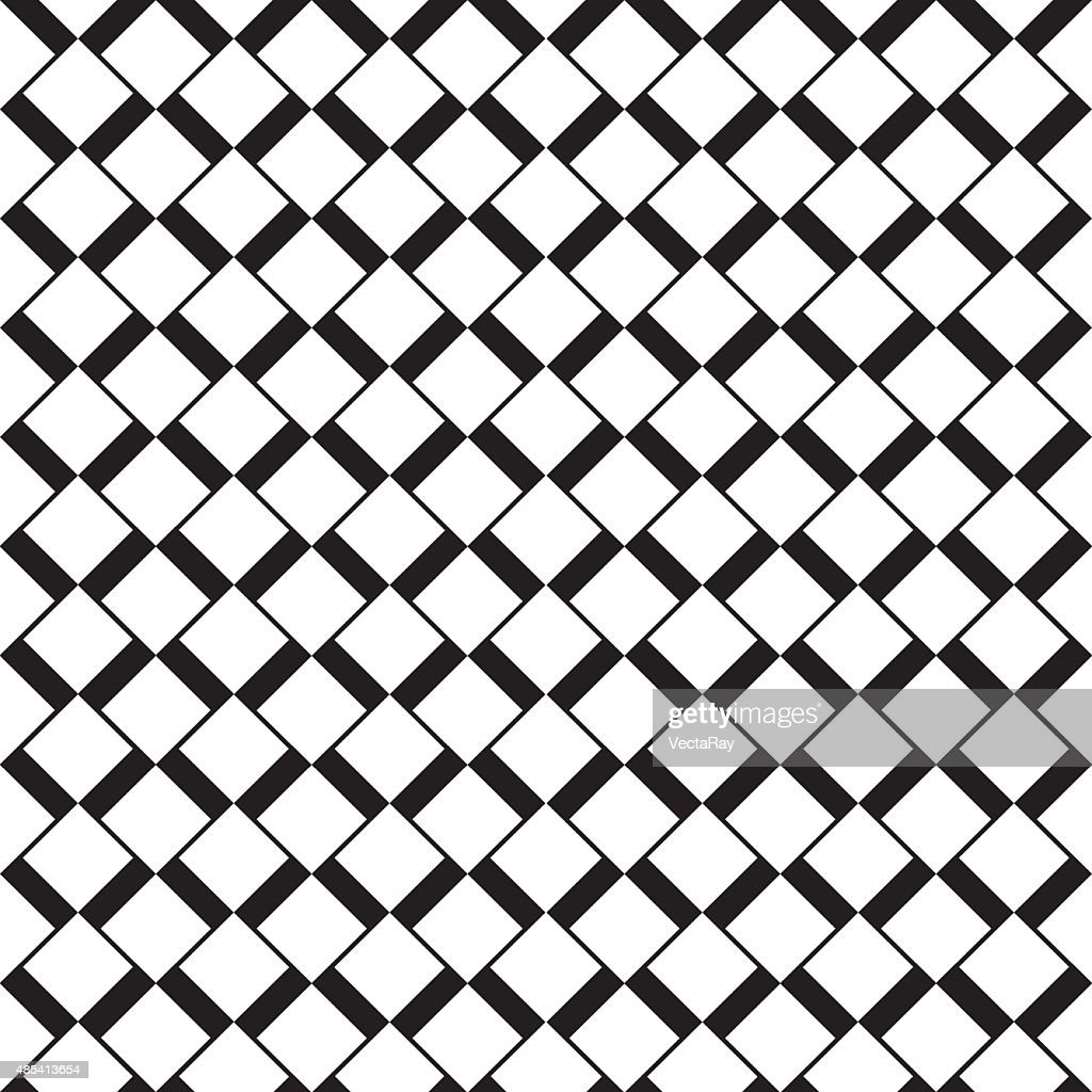 Seamless vector square Art Deco pattern