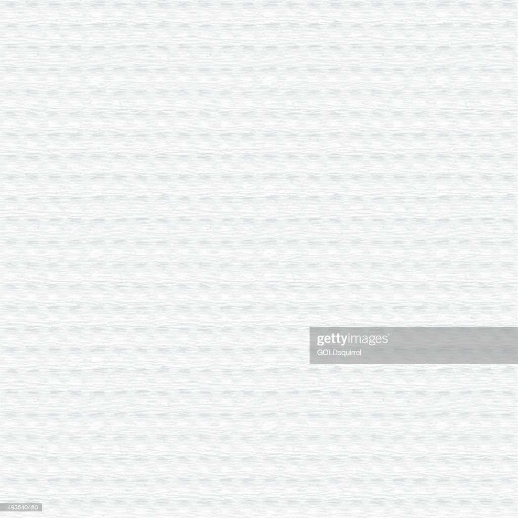 Seamless vector square white decorative scrapbooking paper with embossed texture