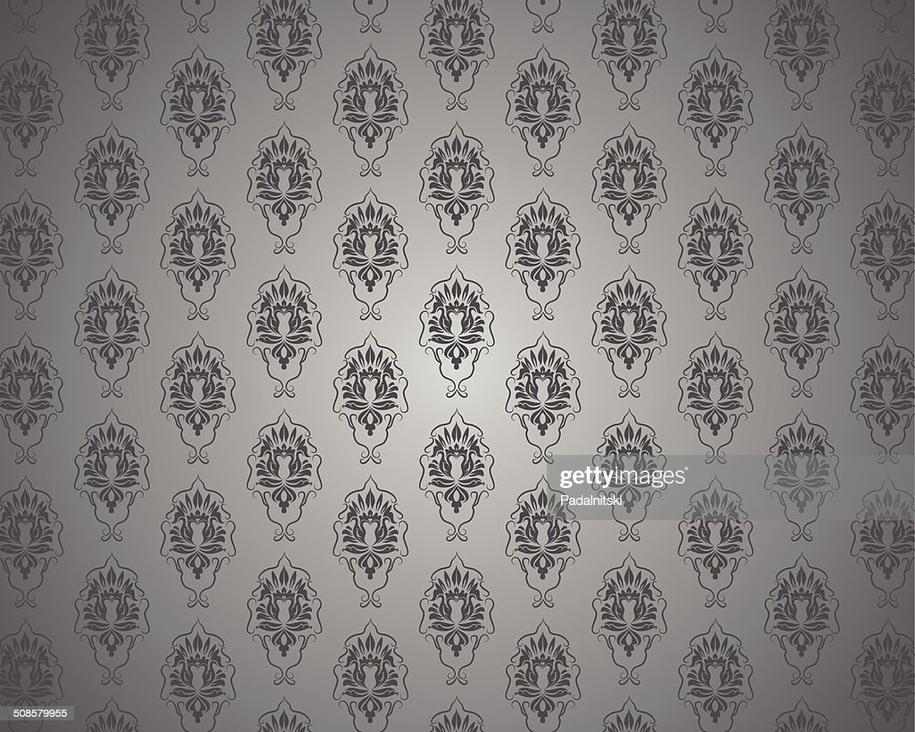 Seamless vintage wallpaper : Vector Art